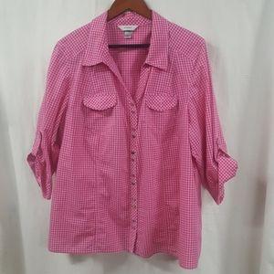 2x button up shirt